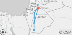 Just Jordan - 6 Days - 9 destinations