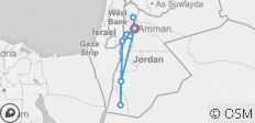 Jordan in 5 Days (All meals included) - 9 destinations