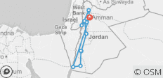 Jordan Jewels - 8 Days - 12 destinations