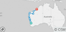 9 Day Perth to Broome Explorer : One-Way - Fully Accommodated - 14 destinations