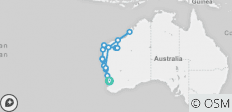 14 Day Perth to Broome Explorer: Return - Fully Accommodated (16 destinations) - 16 destinations