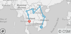 Vietnam, Laos & Thailand Express - 10 destinations