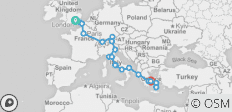 Road To Athens 12DayGreekIslandHopping None Latest (29 Days) - 20 destinations