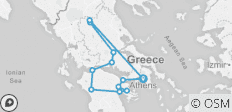 Best of Greece (Reverse, 8 Days) - 12 destinations