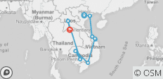 Indochina Tour In 19 Days - 10 destinations