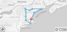 Classic New England - 14 destinations