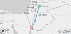 The Kingdom of Jordan - 6 destinations