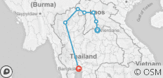Laos to Northern Thailand: Treks & Trails - 7 destinations