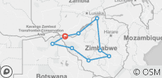 Rediscover Zimbabwe Tour  - 9 destinations