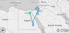 Epic 14 Days Egypt, Jordan, Israel tour - 15 destinations