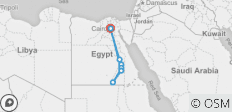 Cairo-Luxor-Aswan-Abu Simbel 9 Days - 8 destinations