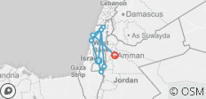 12 Days Inspirational Journey To Israel, Jordan & Egypt - 8 destinations