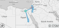 13 Day Egypt, Jordan & Israel Adventure Tour - by Felucca - 15 destinations