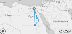 5 Day Cairo, Luxor, Edfu, Kom Ombo, Aswan and Abu Simbel (Private Tour) - 7 destinations