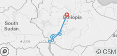 Cultural Trip to the Omo Valley Tribes of Ethiopia - 9 destinations