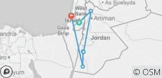 Israel & Jordan on a Shoestring - 6 destinations