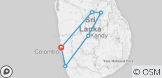 Wonders of Sri Lanka - 9 Days - 6 destinations