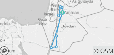 Biblical Tour of Jordan - 8 Days - 10 destinations