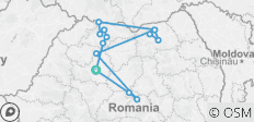 Real Romania - 14 destinations