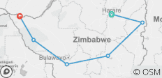 Guided Tour Of Zimbabwe - 6 destinations