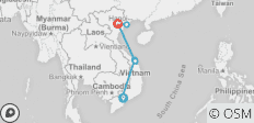 12 Days in Vietnam From Ho Chi Minh city Up to Hoi An and Hanoi - 8 destinations