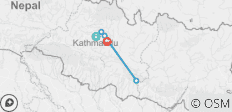 Kathmandu Valley Rim Trekking: - 5 destinations