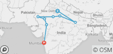 North India Tour - By The Dragon Trip - 8 destinations