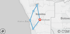 9 Day Discover Namibia Accommodated Lodge Tour - 6 destinations