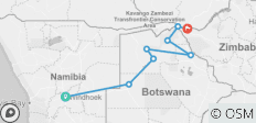 8 Days Okavango Delta and Victoria Falls 2019 - 8 destinations