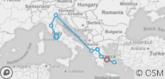 Best of Italy and Greece (15 Days) - 10 destinations