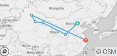 Tracks of Silk Road, No Shopping Stops - 6 destinations