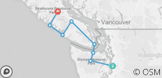 Olympic & Vancouver Island In-Depth - 8 destinations