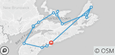 Walking the Canadian Maritimes - 17 destinations