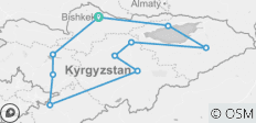 Kyrgyzstan Expedition - 10 destinations