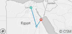 7 Days 6 Nights Cairo to Luxor to Hurghada Holiday - 3 destinations