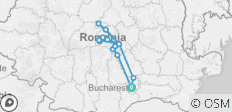 4-Day Tour in Transylvania from Bucharest Hotel Pick-up and Drop off - 15 destinations