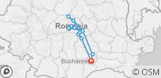 Private 4-Day Tour in Transylvania from Bucharest with Hotel Pick-up and Drop off - 15 destinations