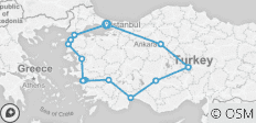 Special Tour of Turkey, Private Tour - 14 destinations