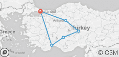 Eyes of Turkey - 6 destinations