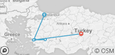 Treasures of Turkey, Private Tour - 8 destinations