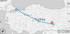 Central & Eastern Turkey Heritage, Private Tour - 4 destinations