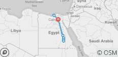 9 Day Cairo, Alexandria and Nile Cruise Tour Package by Flight - 8 destinations