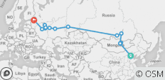 Le Grand Trans Mongolian: Beijing to St. Petersburg - 14 destinations