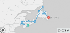 Maritime Mosaic and Newfoundland - 16 destinations