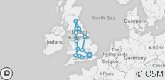 Real Britain 2018/19 (6 Days) - 13 destinations