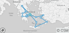 Best of Greece (12 Days) - 19 destinations