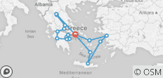 Best of Greece with 7 Day Cruise (July/ August, 11 Days) - 18 destinations