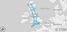 England, Scotland & Wales - 23 destinations