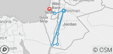 Jordan & Israel 2019-20 - 7 destinations