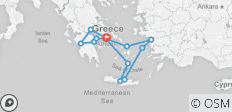 Highlights of Greece Escape with 3-night Iconic Aegean Cruise - 15 destinations